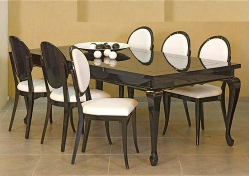 סט-פינת-אוכל-+-כסאות-לואי - פינות אוכל עגולות