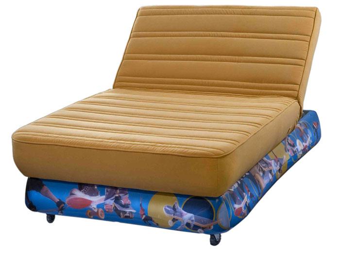 סקטבורד--צהוב - מיטה וחצי
