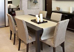 עיצוב שולחן אוכל